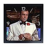 Reloj de pared de madera Sean Connery – James Bond