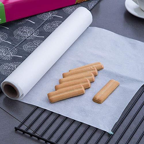 YOUNICER Wiederverwendbares Antihaft-Backofenpapier DIY Backen Kochblätter Antihaft-Backpapier Pergamentpapiermatten 20M