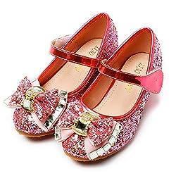 Princess Cosplay Sequin Low Heeled Pink-2 Shoe