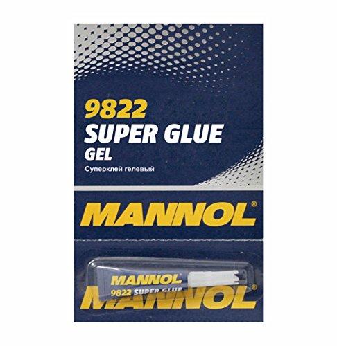 Preisvergleich Produktbild River Direct MANNOL 9822 SUPER Glue Gel SEKUNDENKLEBER ALLESKLEBER KLEBSTOFF 3G