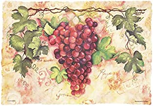 Hoffmaster Tuscany Grapes Placemats Scalloped