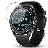 Vaxson 3 Stück 9H Panzerglasfolie, kompatibel mit GOKOO SN88 smartwatch Smart Watch, Panzerglas Schutzfolie Bildschirmschutzfolie