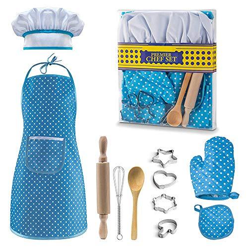 KITY Juguetes Niños 3 a 8 Años, Juego de simulación de Cocina Juguetes para Niños de 3-8 Años Regalos Cumpleaños Niños 3 a 8 Años Regalo Niña Juguete Interesante Regalos --Azul