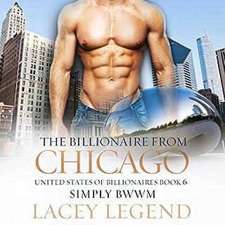 The Billionaire from Chicago: A BWWM Billionaire Romance  audiobook cover art