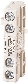 EATON NHI-B-11-PKZ0 Contacto Auxiliar, 1 NO + 1 NC, Montaje Lateral, Conexión a Tornillo, Caja de 5