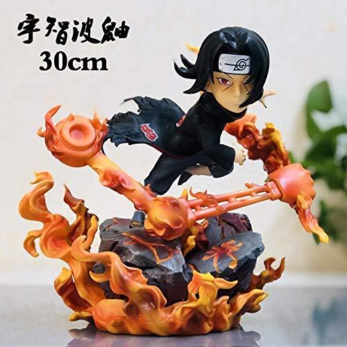 gengxinxin Naruto-krähe Uchiha Itachi Akatsuki Uchiha Uchiha Itachi Proportionaler Garagenbausatz Statue Modell Handgemachtes Kreatives Tischplattendekoration Sammlungen