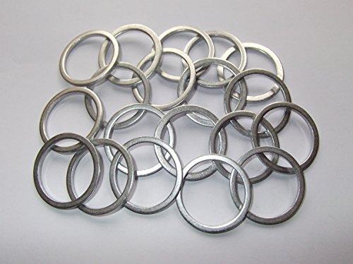 100 Stück Aluminiumringe/Dichtringe/Aluringe 26x32x2,0 mm DIN 7603