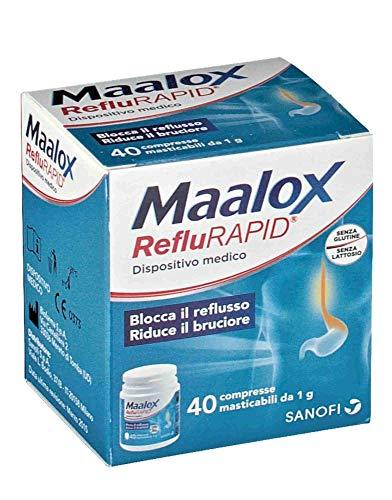 MAALOX REFLURAPID 40Compresse Masticabili