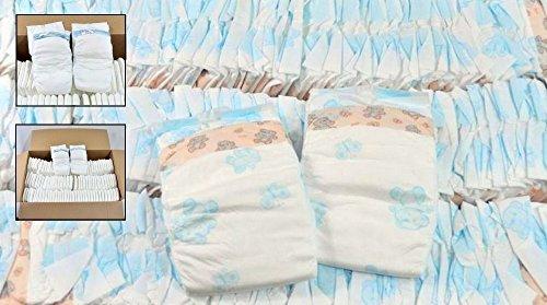 Windeln Babywindeln NEWBORN MINI MIDI MAXI JUNIOR Gr 1 Gr 2 Gr 3 Gr 4 Gr 5 Gr 6 (Größe 5 Junior  von 15 bis 25 kg 140 Stück)