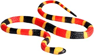 BESPORTBLE Simulated Snakes Plastic Rain Forest Snakes Realistic Snake Fake Snake Toys for Boys and Girls Party Favors Dec...