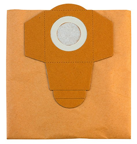 Original Einhell Schmutzfangsack 30 L (passend für Einhell Nass-Trockensauger, 5 Stück enthalten)
