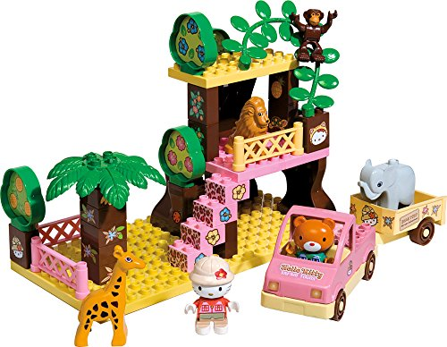 BIG 57015 - PlayBIG-Bloxx Safari Hello-Kitty, Figuren