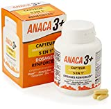 Anaca3+ – Capteur de Graisses et Sucres 5 En 1 – Dosages Renforcés* – Complement Alimentaire – Programme 30...
