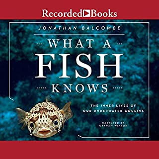 What a Fish Knows audiobook cover art