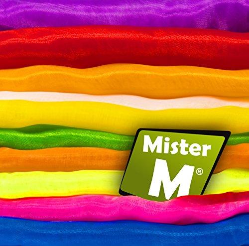 Mister M ✓ 20 Tücher ✓ Rhythmik, Jonglier, Tanz Tücher ✓ mit Online Jonglier Lern Video