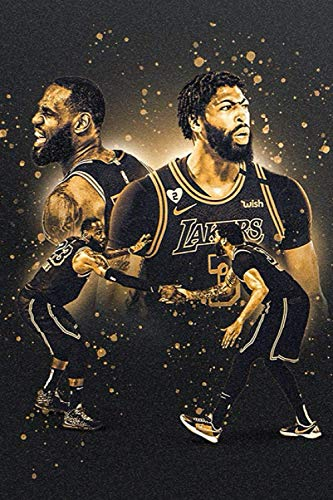 Lebron James & Anthony Davis Notebook - WITH QUOTES BY Lebron James : Lakers | Basketball | NBA | Notebooks | Journals: Lebron James Quotes Lined ... blank Pages, 6x9 Inches, Matte Finish Cover