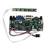 WOWOWO Placa controladora L DVI VGA Audio PC Module Driver Kit de Bricolaje Compatible con MI
