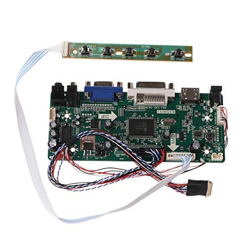 Controller Board LCD HDMI DVI VGA Audio PC Module Driver DIY Kit 15,6