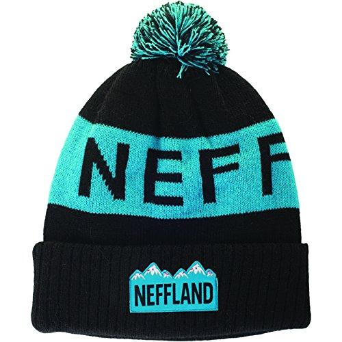 NEFF Lando Beanies Bonnet Mixte Adulte, Noir, FR : (Taille Fabricant : 0)
