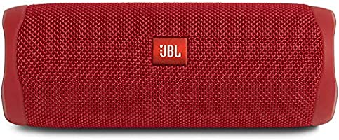 JBL FLIP 5, Waterproof Portable Bluetooth Speaker, Red (New Model)