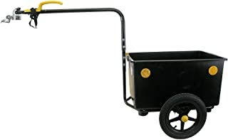 Sonstige 无名自行车拖车带适配器 - 黑色