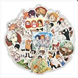TTBH The Promised Neverland Decal Stickers For Refrigerator Motorcycle Skateboards Laptop Luggage Pegatinas Bicycle Toy 50Pcs/Set