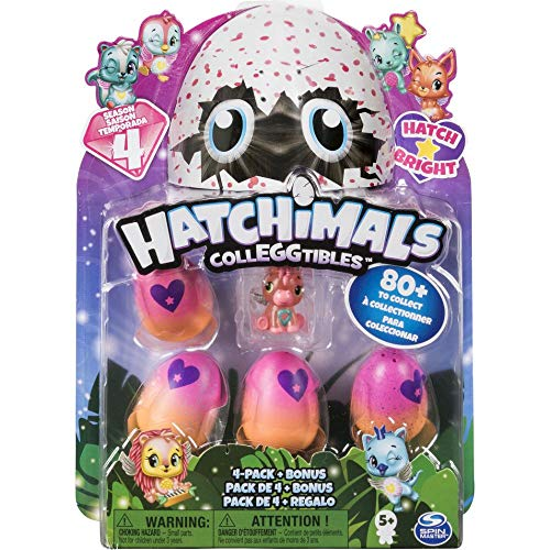 Hatchimals CollEGGtibles 4 Pack + Bonus S4