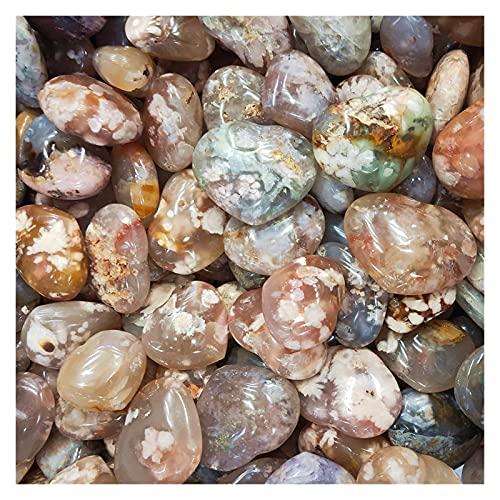 Piedras y cristales CORAZÓN DE CRISTAL CORAZÓN NATURAL FLOR AGATE DE CUTIMIZ CORAZONES PEQUEÑO CERRÍTULARIO CHERLIANDO CORNÍA CRISTALES CRISTALES DE CANACIONAL DE CANACIÓN 1-5PCS ( Size : 1pcs )
