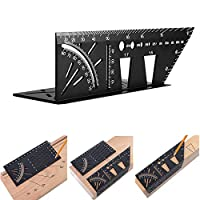 3D mitre angle measuring tool - Woodworking Multiuse Handy Angle Ruler - for Three Dimensional Items Measuring Timber, Pipes,Etc