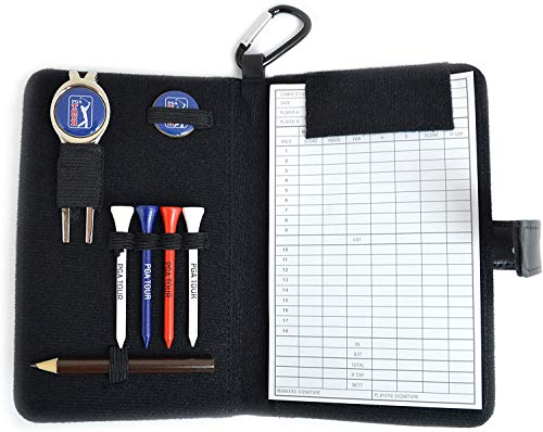 Organiser in pelle da golf