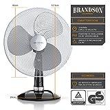 Immagine 1 brandson ventilatore da tavolo 42cm