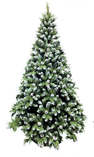 Coil Christbaum künstlicher Weihnachtsbaum Christbaum PVC Tannenbaum künstlich Kiefer 180/210 (210cm)