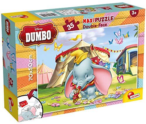Lisciani Giochi- Dumbo Puzzle, 35 Pezzi, Multicolore, 74150