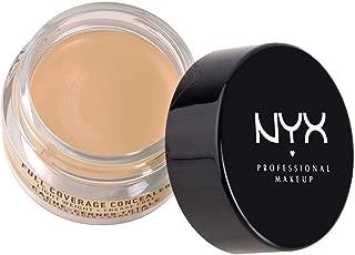 NYX Above & Beyond Full Coverage Concealer Jar-0.25 oz (Beige-CJ04)