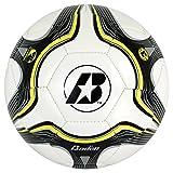Baden Low Bounce Futsal Practice Ball (Size 3) Black/White/Yellow