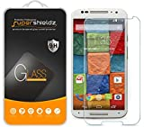(3 Pack) Supershieldz for Motorola Moto X (2nd Generation) Tempered Glass Screen Protector, Anti Scratch, Bubble Free