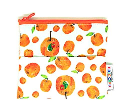はらぺこあおむし ポケットティッシュポーチ (オレンジ)