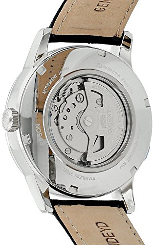 Orient Herren Analog Automatik Uhr mit Leder Armband FAK00002S0 - 2