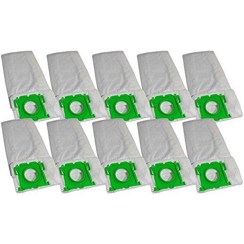 10 Staubsaugerbeutel aus Microvlies inkl. stabiler Anschlußplatte passend für Sebo Airbelt K1