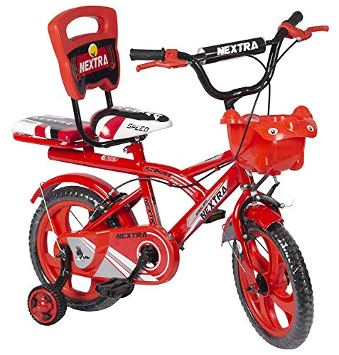 Speed Bird Cycle Industries 14-T Robust Double Seat Kid Bicycle for Boy and Girl - Age Groupe 3-6...