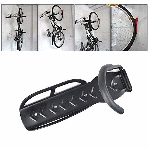 Bicycle Bike Home Storage Rack-Wall Mounted Hanger Hook MTB Road Mountain Black