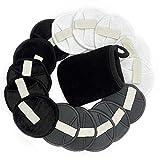 15 dischetti lavabili per rimuovere il trucco in cotone di bambù riutilizzabile