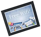 Set of Ten, Poster Mats for Use on a Countertop, Counter Sign Holders for 8.5 x 11 Inch Graphics, Non-Skid Bottom