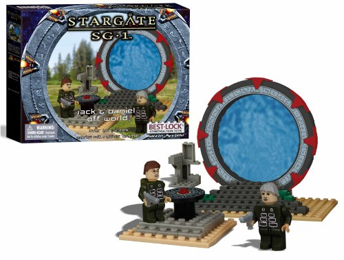 Best-Lock - Stargate SG-1 Best-Lock Jeu de Construction Jack & Daniel Off Wo