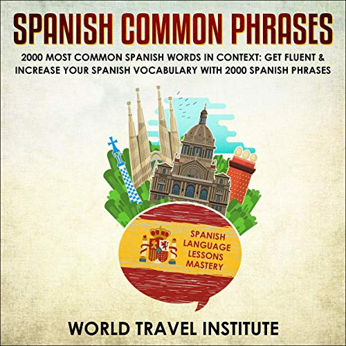 Couverture de Spanish Common Phrases