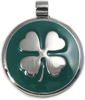 LuckyPet Pet ID Tag - Clover Jewelry Tag - Dog & Cat Pet Tags - Custom Engraved on the Back Side