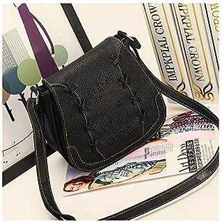 Fashion Black Shoulder Bag For Women Hollow Butterfly Crossbody Bag Summer Style Ladies HandBag