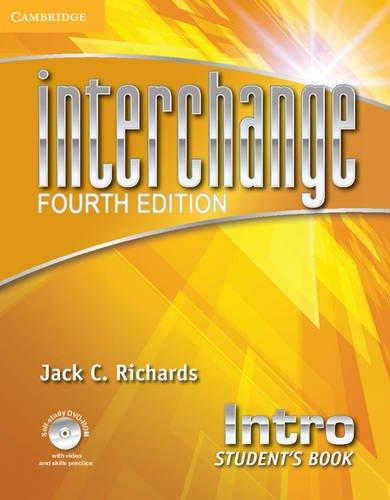 Interchange Intro - Student´s Book With Online Workbook - 04 Edition