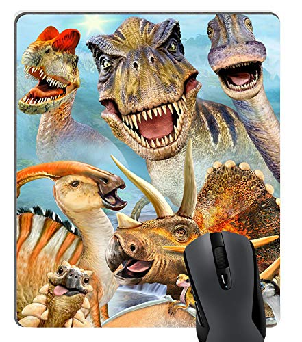 Knseva Cool Dinosaurs Funny Selfie Mouse Pad