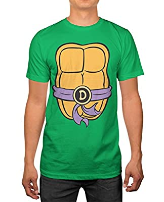 Haunted Flower TMNT Teenage Mutant Ninja Turtles Mens Costume T-Shirt